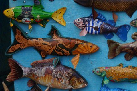 Сувениры с рыбой своими руками