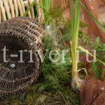 Вентерь – эффективная рыболовная ловушка, фото вентеря с двумя крыльями, ловля рыбы на вентерь