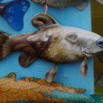 Сувенир рыба, рыболовные сувениры из дерева своими руками на продажу. Деревянные сувениры рыбы.