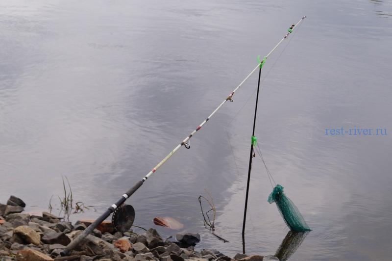 фото установка садка для рыбы