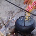 Питание в походе макаронами, советы как готовить. Макарошки на природе - дешево и вкусно.