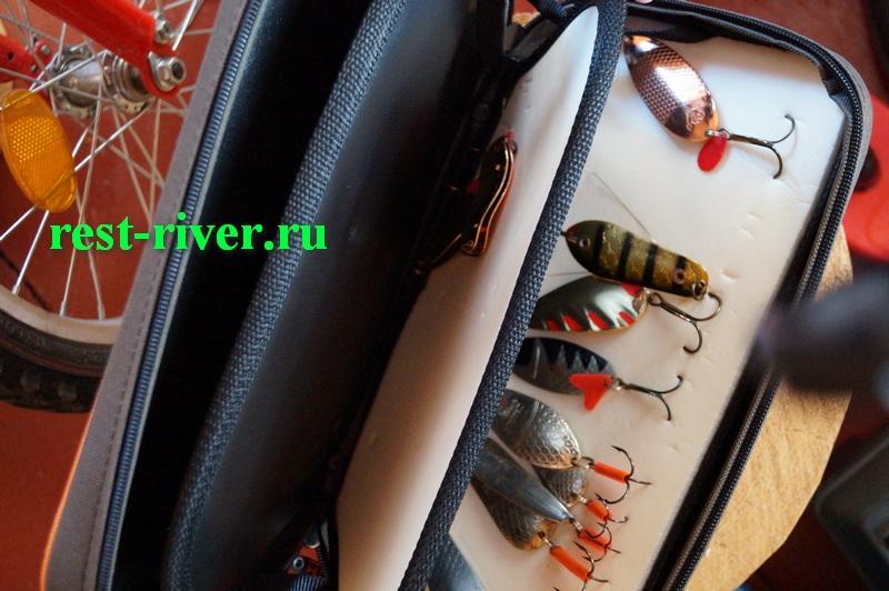 хранение блесен в сумке