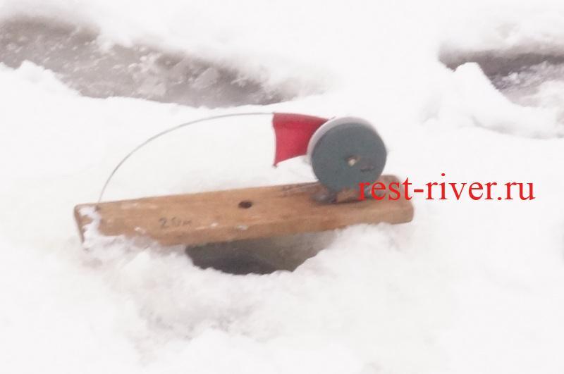 фото самодельная жерлица зимняя