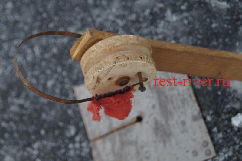 смотреть жерлицы - изготовление катушки зимней жерлицы своими руками