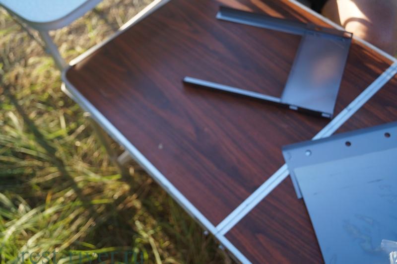 сборка одноразового мангала для пикника