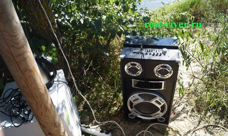 акустическая система на природе фото