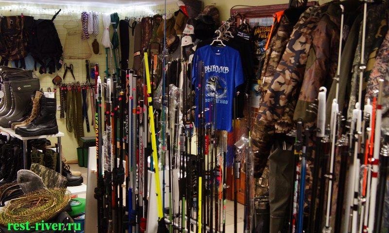 фото рыболовный магазин