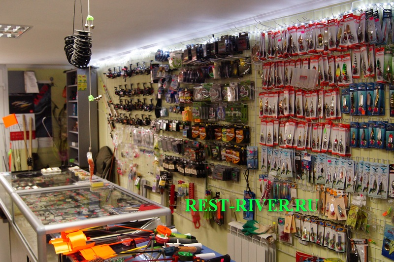 фото рыболовного магазина - иллюстрация к заметке как открыть рыболовный магазин с нуля