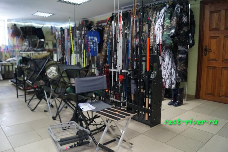 фото открытый рыболовный магазин
