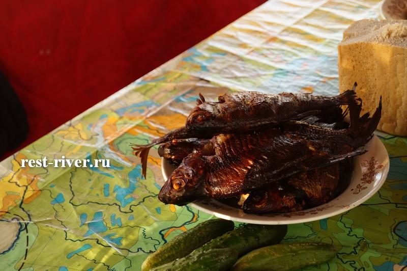 фото рыба горячего копчения