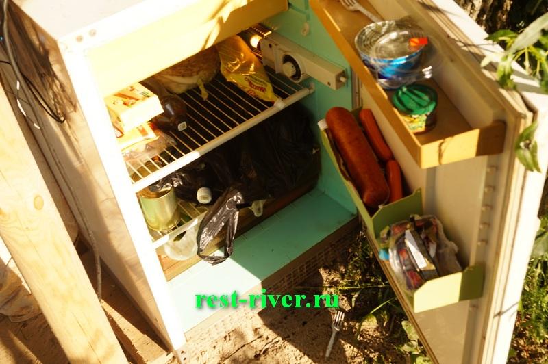 фото хранение продуктов на природе в холодильнике