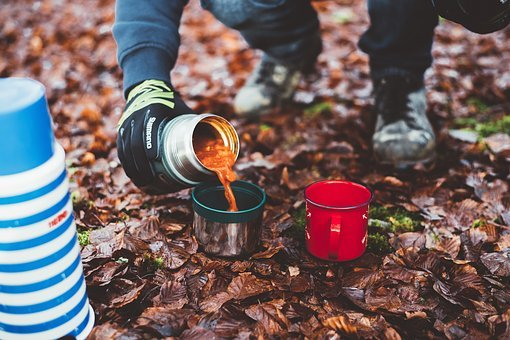 хранение продуктов на природе в термосе