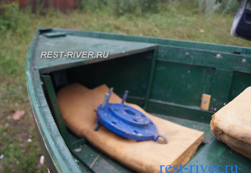 носовая часть для лодки сделанная своими руками