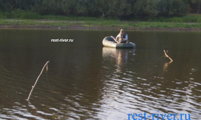 ловля на жерлицы рогатки с лодки