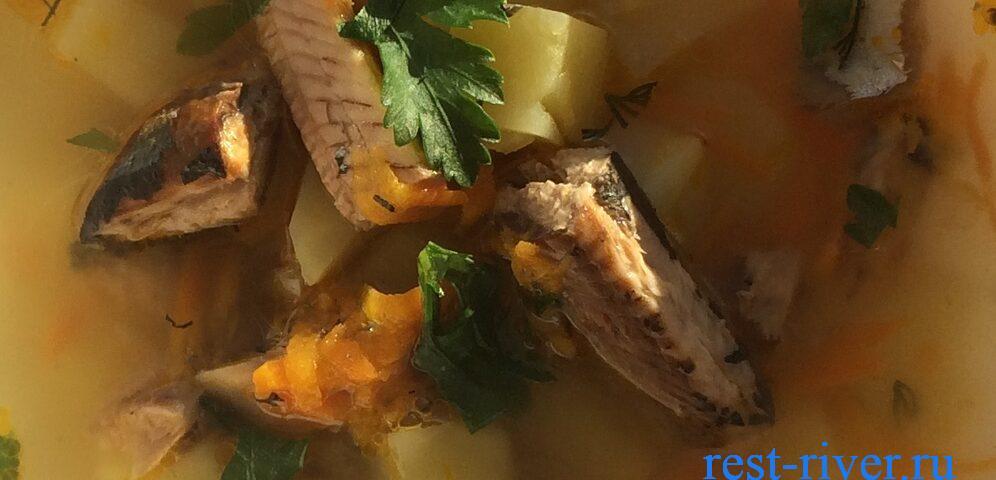 консервы сайра в супе