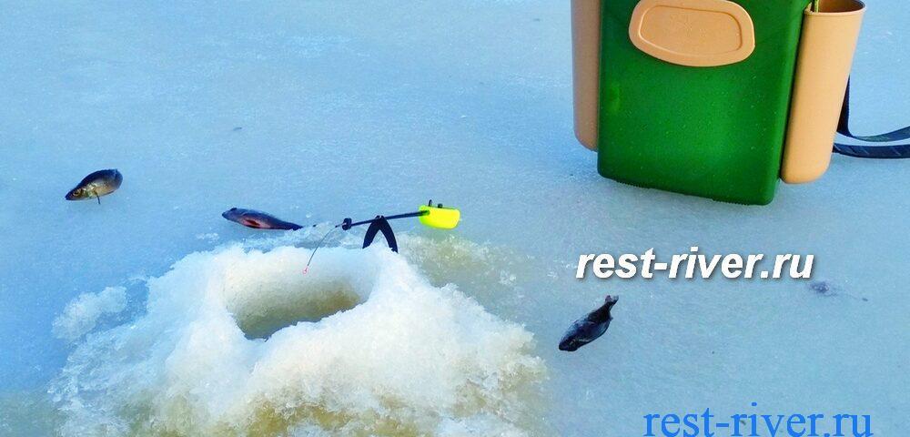 ловля зимой на балалайку