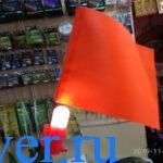 Светодиодный сигнализатор для жерлицы. Отзыв по пробе в сигнализатора в рыболовном магазине.