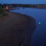 Светлячки для ночной рыбалки - сигнализаторы поклёвки. Ловля донкой ночью. Сигнализатор поклевки ночной.