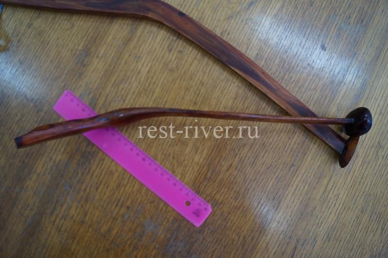 деревянный квок под левую руку