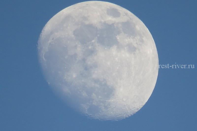 фото луны на цифровую камеру