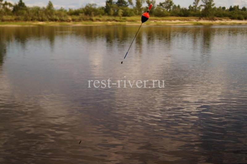поплавок для ловли на ракушку в проводку на течении