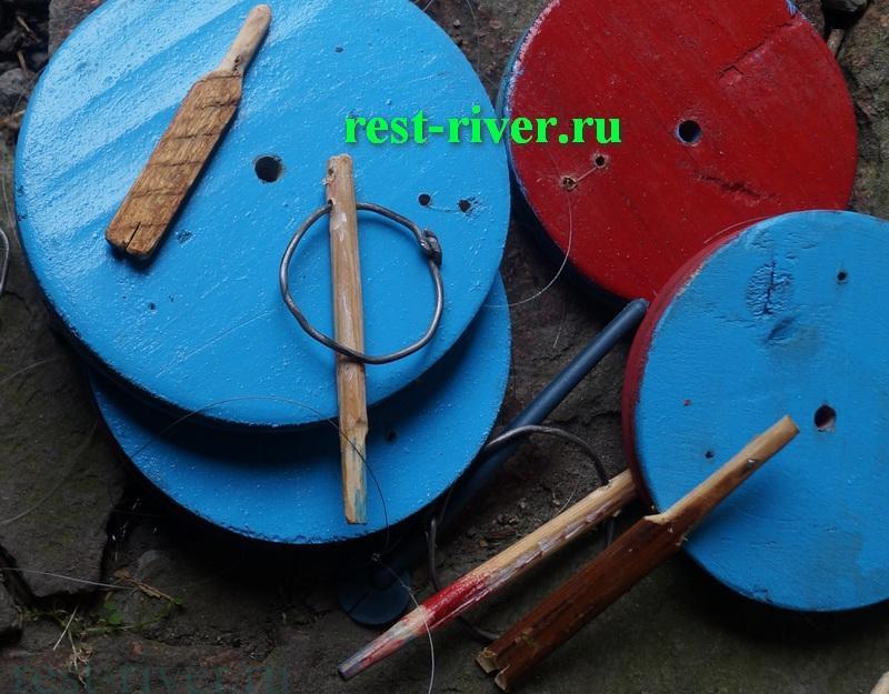 антенны из дерева для рыболовного кружка