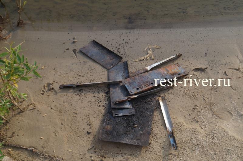 чистка одноразового мангала