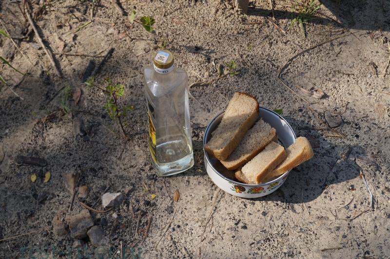 ингредиенты для гренок с чесноком
