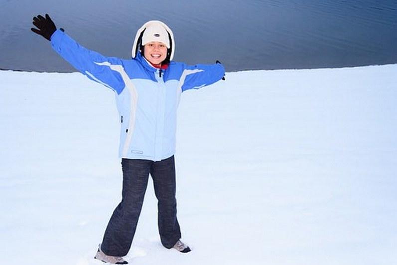женский костюм для отдыха зимой