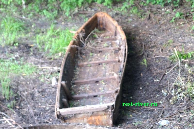 фото старой лодки плоскодонки