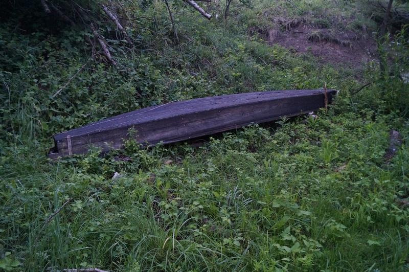 фото дно деревянной лодки