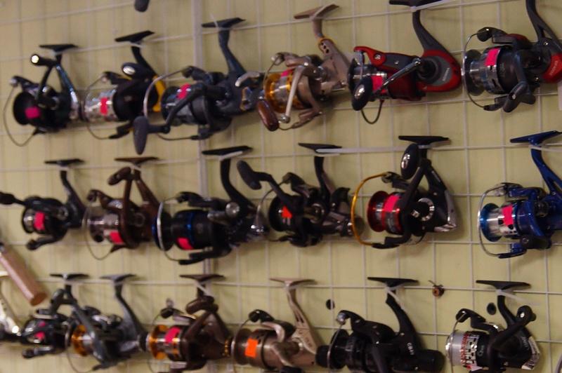 фото рыболовные катушки