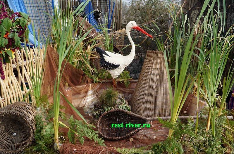 декоративные украшения для прудов