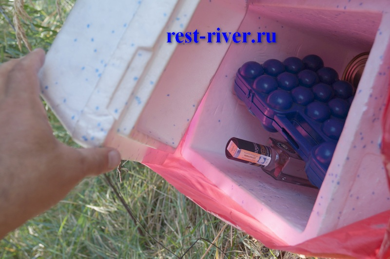 хранение продуктов на природе в термобоксе