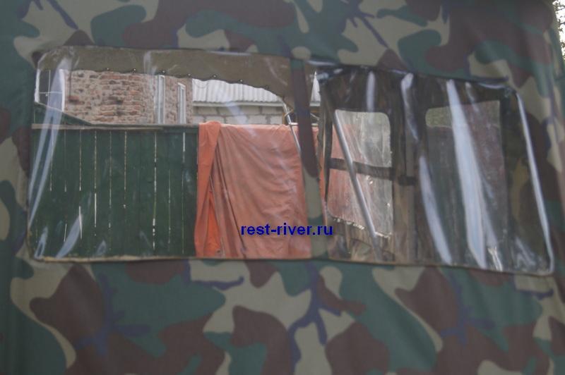 окна на палатку из прозрачного пвх