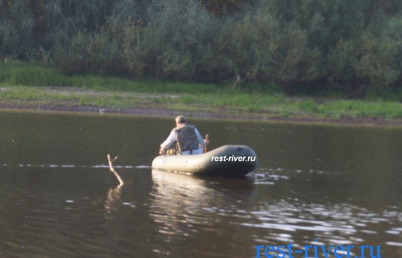 ловля на жерлицы с лодки
